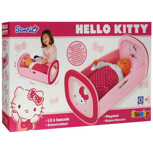 Колыбель для пупса Hello Kitty 24267