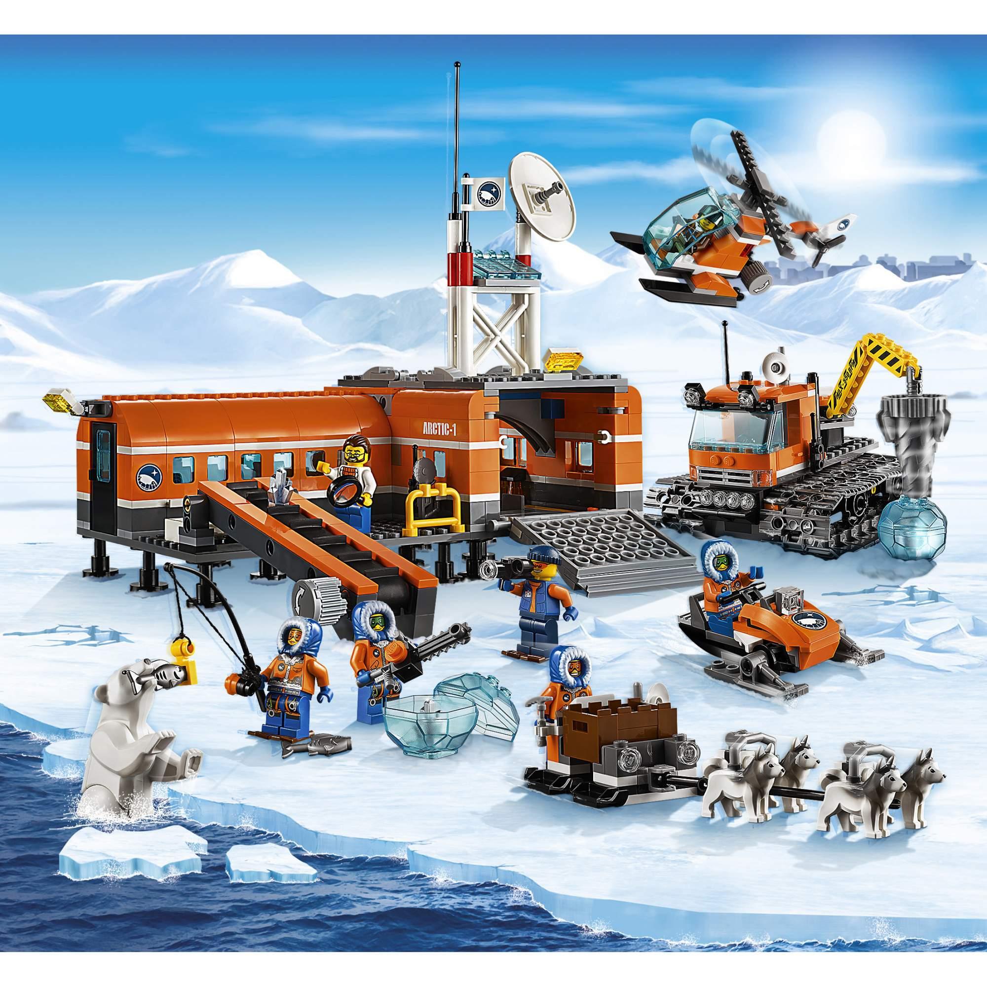 лего лего картинки арктика надо сказать