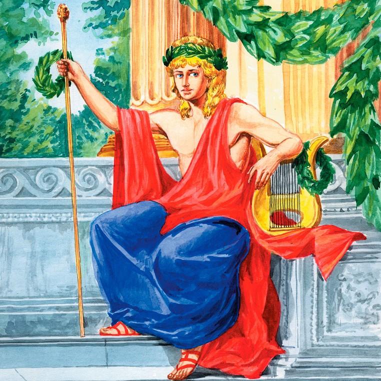 аполлон греческий бог картинки официально
