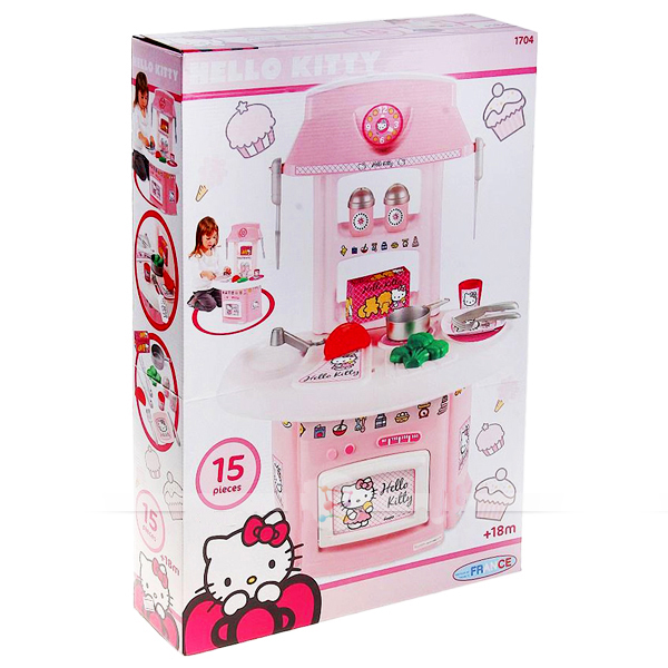 Кухня Hello Kitty, 15пр.