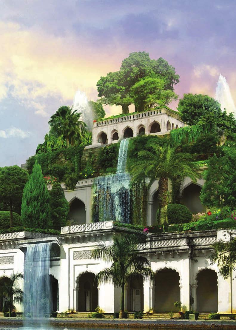 семь чудес света картинки сады семирамиды водолазка длинными рукавами
