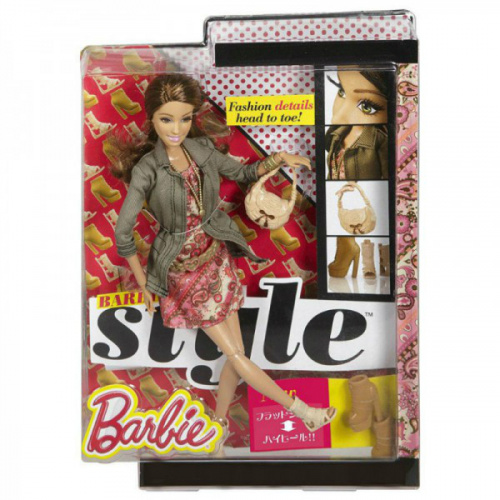 "Кукла Barbie Fashionistas ""Deluxe"""