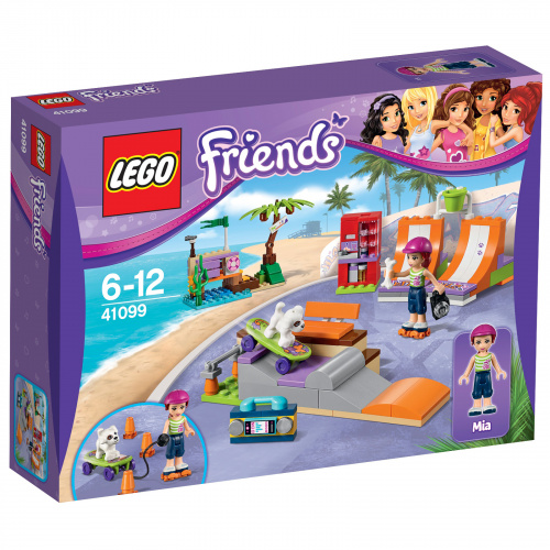 Конструктор LEGO Friends 41099 Скейт-парк