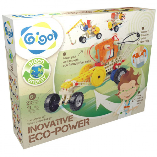 "Конструктор GIGO ""ECO POWER"" (ЭНЕРГИЯ СОЛИ) 22 в 1"